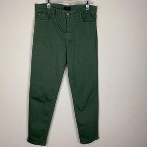 NYDJ- Green Ankle Pants size 12